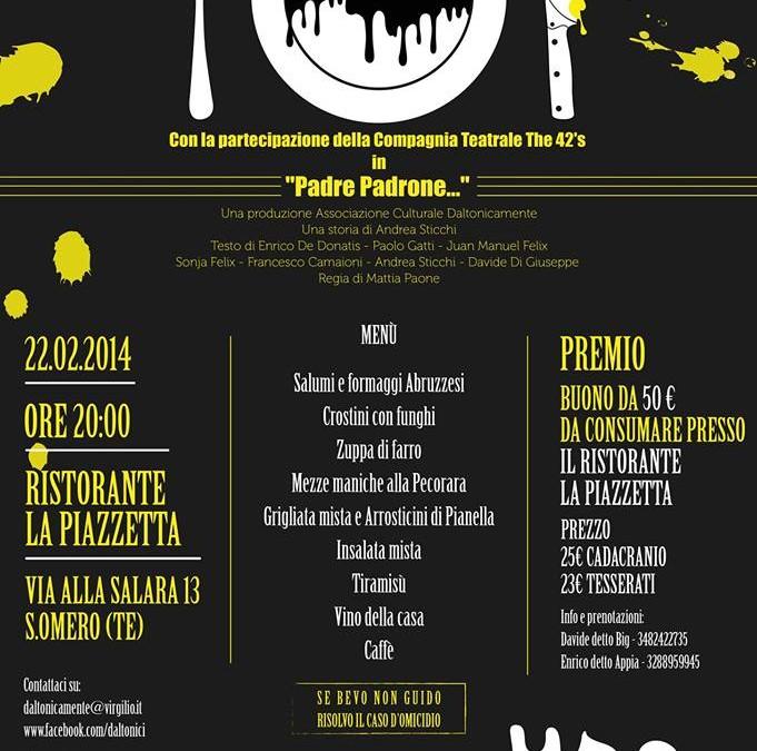 Cena Daltomicida – Una cena con delitto in versione Daltonica